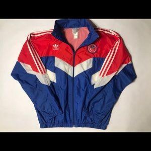 Vintage Adidas 80's USMNT Windbreaker